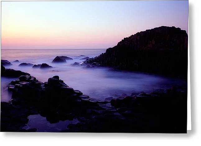 The Giants Causeway, Co Antrim, Ireland Greeting Card by The Irish Image Collection