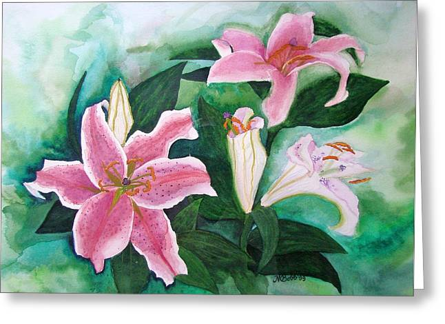 Just Because Greeting Cards - The Gift Greeting Card by Margaret Bobb