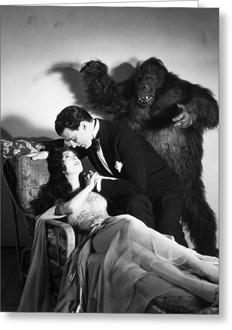 Chaise Photographs Greeting Cards - The Gorilla, 1930 Greeting Card by Granger