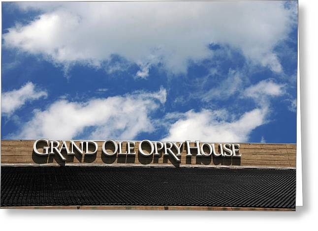 The Houses Greeting Cards - The Grand Ole Opry Nashville TN Greeting Card by Susanne Van Hulst