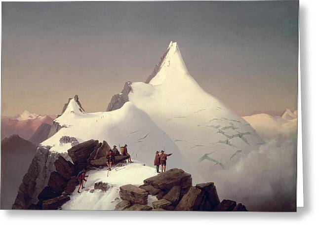 Climber Greeting Cards - The Great Bellringer Greeting Card by Marcus Pernhart