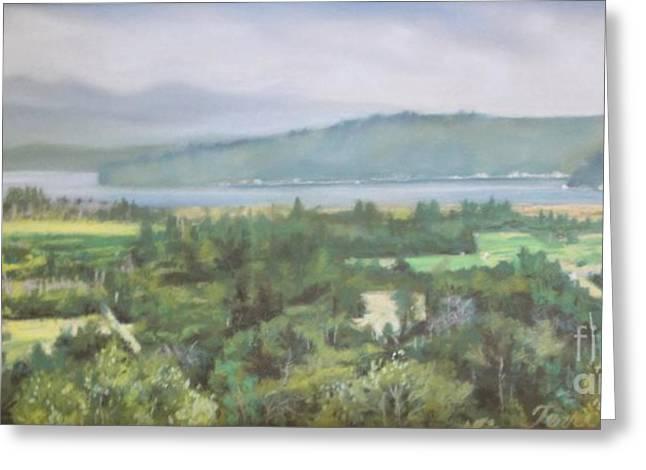 Great Pastels Greeting Cards - The Great Bend Greeting Card by Terri Thompson