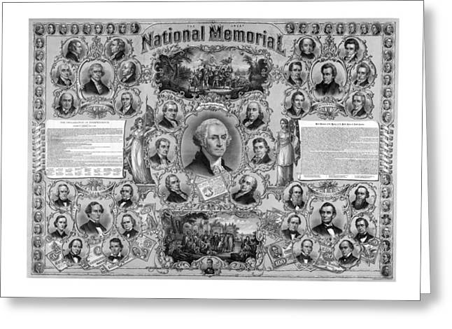 The Great National Memorial Greeting Card by War Is Hell Store