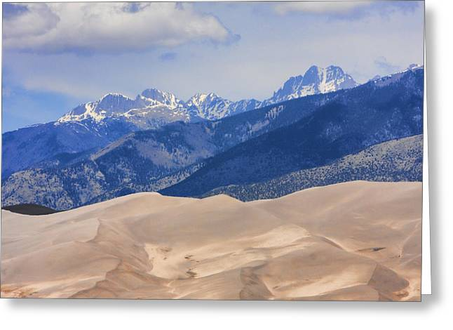 """nature Photography Prints"" Greeting Cards - The Great Sand Dunes Color Print 45 Greeting Card by James BO  Insogna"