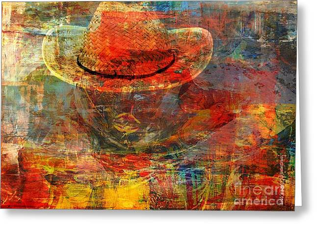 Pretense Greeting Cards - The Greatest Hope is Not the Hat Greeting Card by Fania Simon