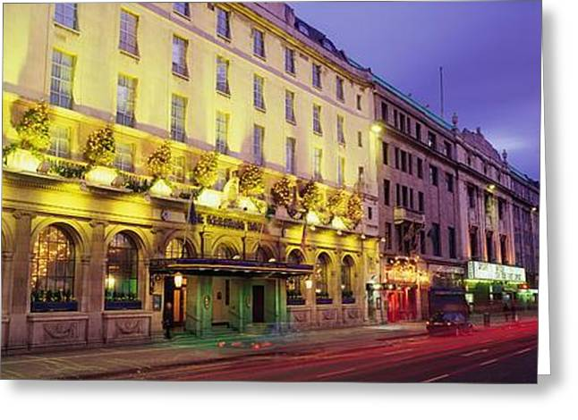 Western Ma Greeting Cards - The Gresham Hotel Dublin, Oconnell Greeting Card by The Irish Image Collection