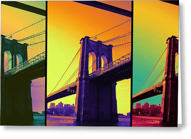 The Hardest Thing In Life To Learn Is Which Bridge To Cross  Greeting Card by Jenn Bodro