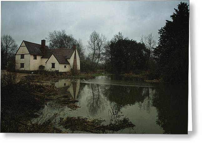 Constable Greeting Cards - The Hay Wain Greeting Card by Philip G