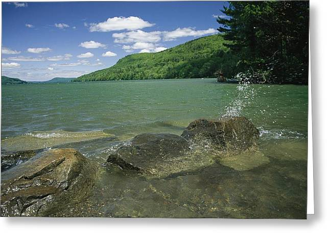 Cooperstown Greeting Cards - The Headwaters Of The Susquehanna River Greeting Card by Raymond Gehman