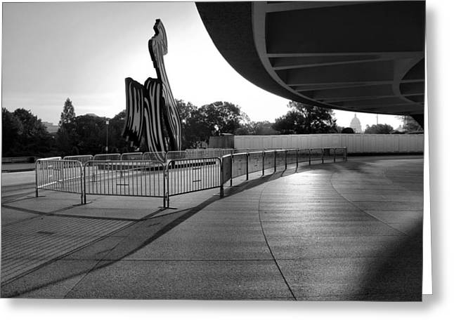 The Hirshhorn Museum II Greeting Card by Steven Ainsworth