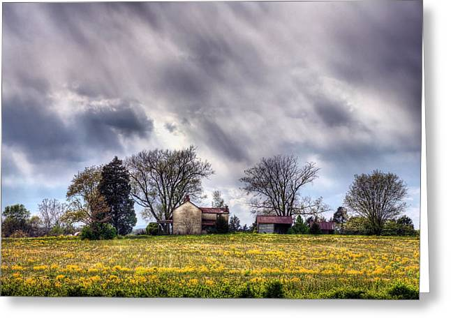 The Homestead Greeting Card by JC Findley