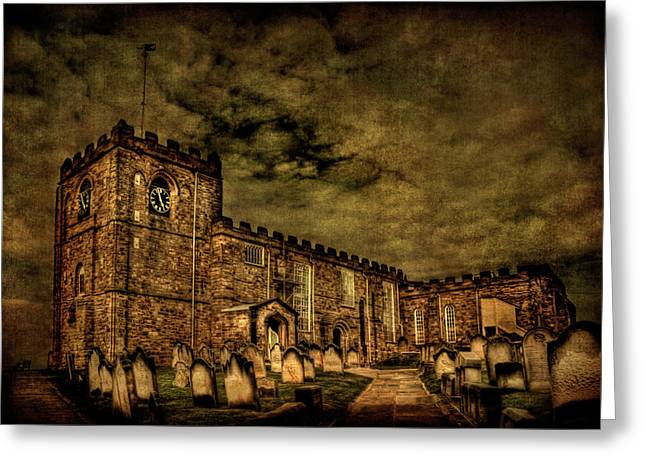 Whitby Greeting Cards - The House Of Eternal Being Greeting Card by Evelina Kremsdorf