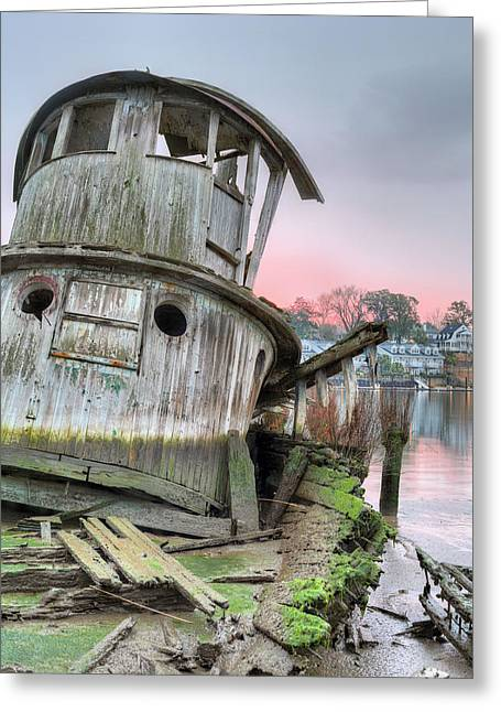 Wilmington North Carolina Greeting Cards - The Isco Greeting Card by JC Findley