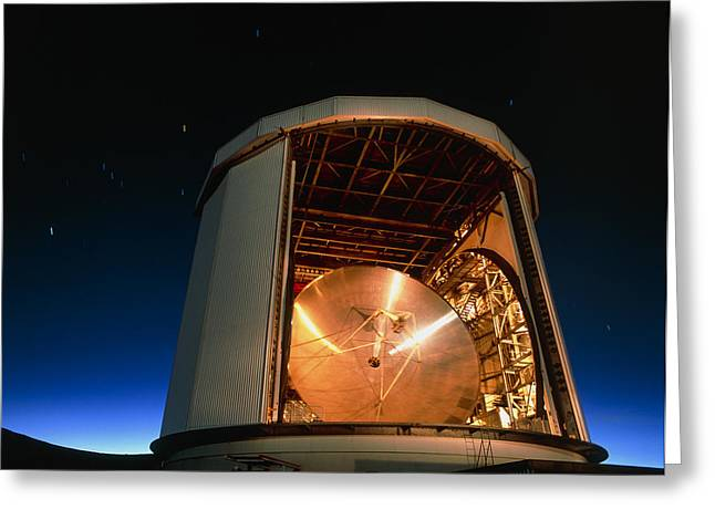 Clerk Greeting Cards - The James Clerk Maxwell Telescope (jcmt) Greeting Card by David Nunuk