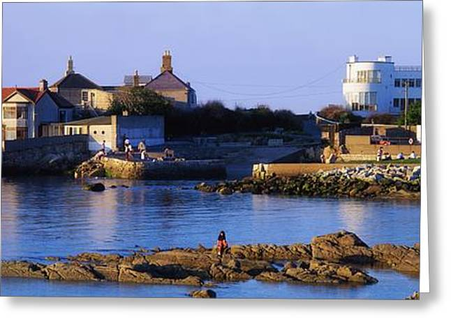 Historic Home Greeting Cards - The James Joyce Tower, Sandycove, Co Greeting Card by The Irish Image Collection