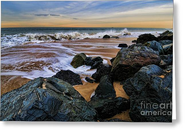 The Jersey Shore Greeting Cards - The Jersey Shore Greeting Card by Paul Ward
