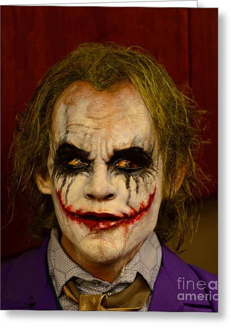 Why So Serious Greeting Cards - THE JOKER - Why so serious Greeting Card by Paul Ward