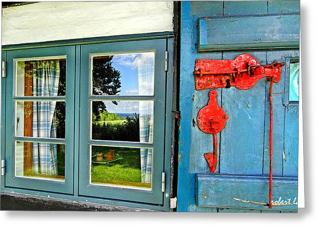 Ly Greeting Cards - The Journalists House Greeting Card by Robert Lacy