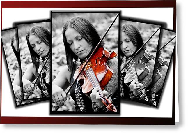 Tatoo Greeting Cards - The Joy of Music Greeting Card by Greg Fortier