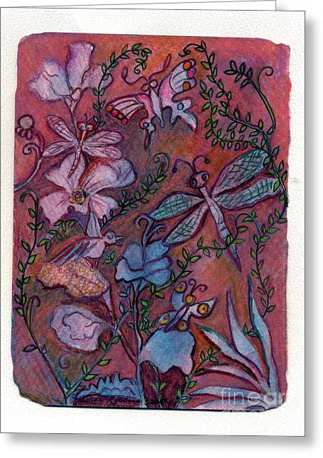 The Joys Of Nature Greeting Card by Marlene Robbins