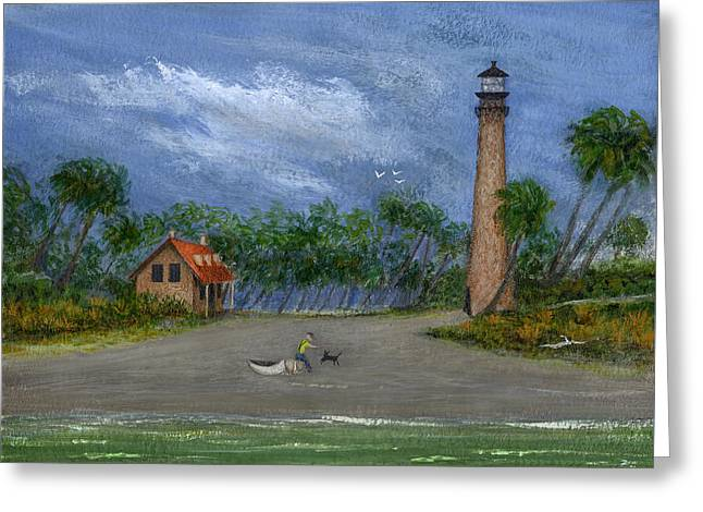 Jacksonville Greeting Cards - The Keepers Friend Greeting Card by Gordon Beck