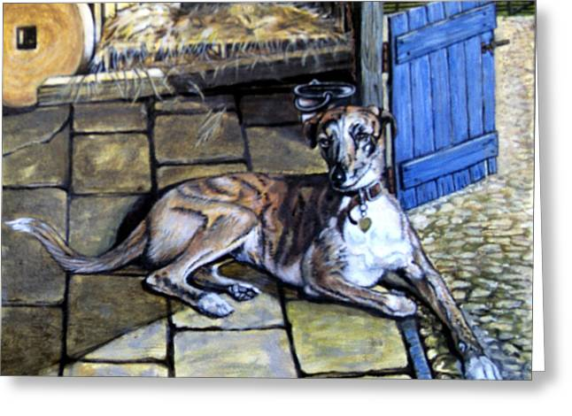 Buket Greeting Cards - The Kennel Greeting Card by James Richardson