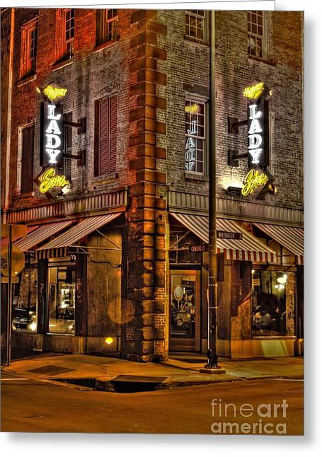 Photographers Conyers Greeting Cards - The Lady and Sons  Greeting Card by Corky Willis Atlanta Photography