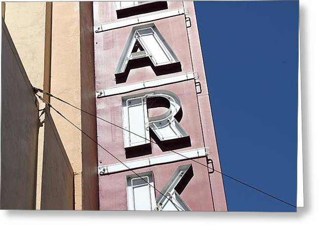 The Lark Theater in Larkspur California - 5D18489 Greeting Card by Wingsdomain Art and Photography
