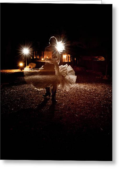 Life Change Greeting Cards - The Last Dance Greeting Card by Scott Sawyer