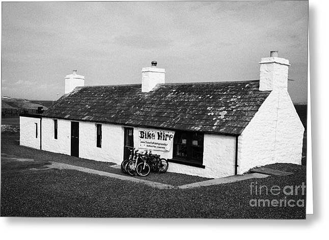 Groat Greeting Cards - the last house in scotland old fishermans cottage at John OGroats scotland uk Greeting Card by Joe Fox