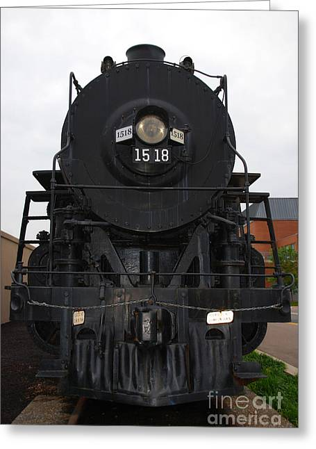 1518 Greeting Cards - The Last Iron Horse Loc 1518 in Paducah KY Greeting Card by Susanne Van Hulst