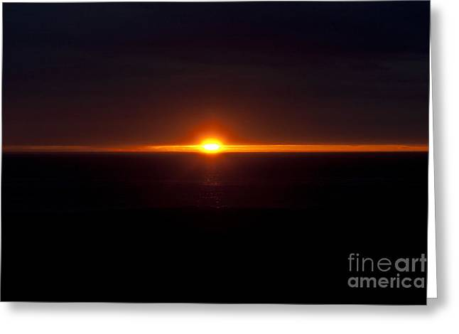 Shining Down Greeting Cards - The Last Light - 3 Greeting Card by Heiko Koehrer-Wagner