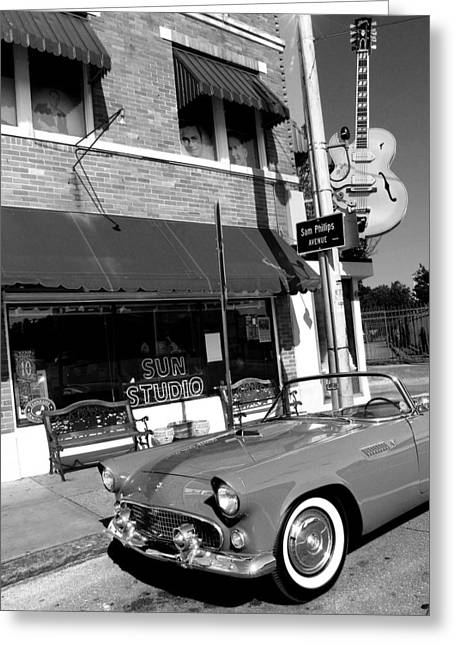 Sun Studio Greeting Cards - The Legendary Sun Studio Greeting Card by Todd Fox