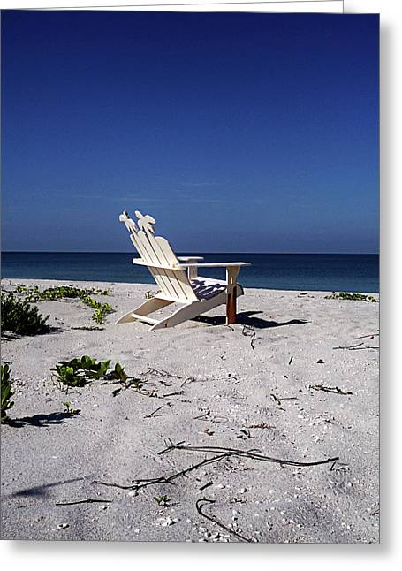 Captiva Greeting Cards - The Life GP Greeting Card by Chris Andruskiewicz