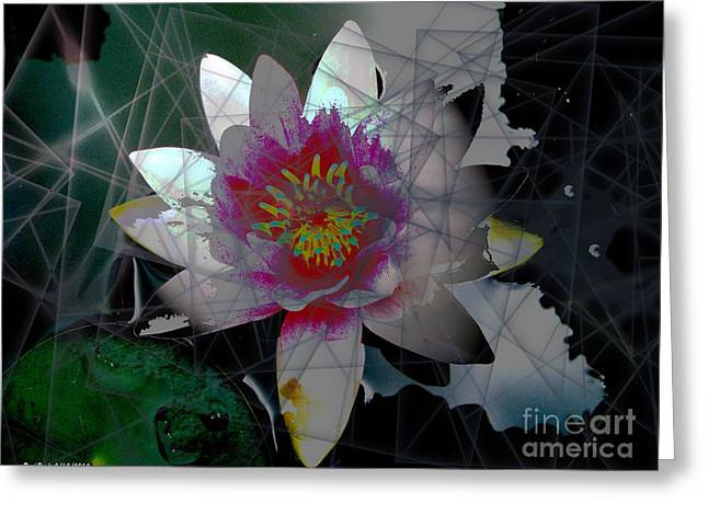 Inner Self Greeting Cards - The Light from Within Greeting Card by Cheri Doyle