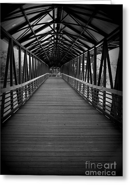 Way Home Greeting Cards - The long way home Greeting Card by Julie Lueders