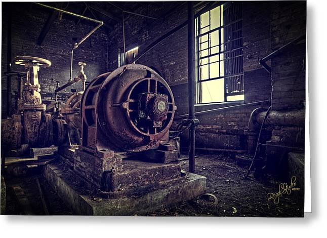 Machine Photographs Greeting Cards - The Machine Greeting Card by Everet Regal