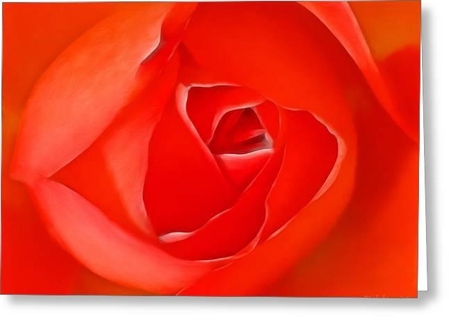 Buket Greeting Cards - The magic of the rose Greeting Card by Desislava Kulelieva