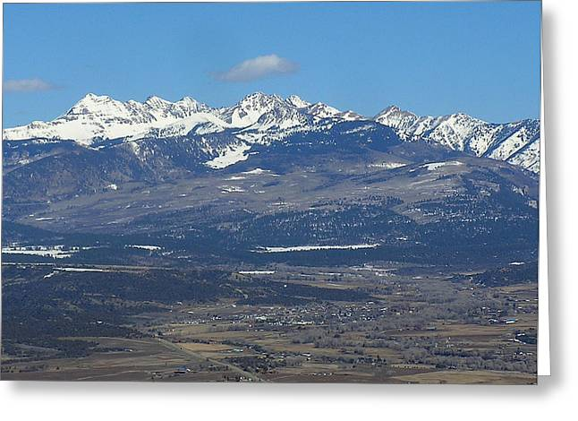 Mancos Greeting Cards - The Mancos Valley Greeting Card by FeVa  Fotos