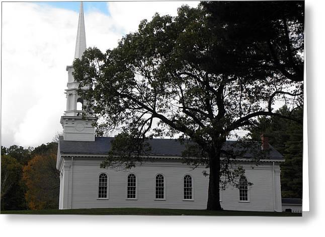 Martha Mary Chapel Greeting Cards - The Martha Mary Chapel Greeting Card by Kim Galluzzo Wozniak