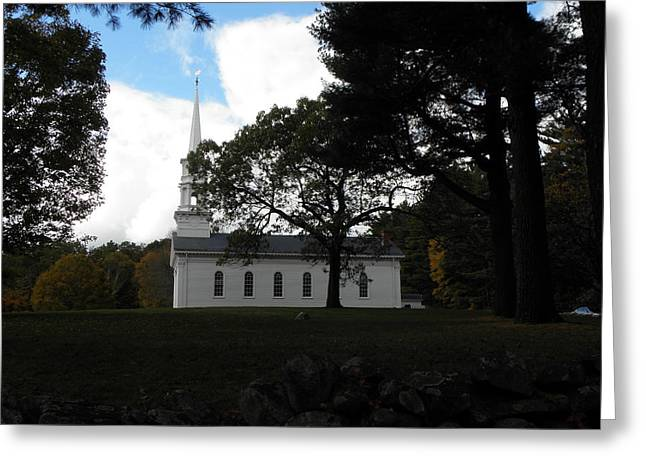 Martha Mary Chapel Greeting Cards - The Martha Mary Chapel Standing Tall Greeting Card by Kim Galluzzo Wozniak