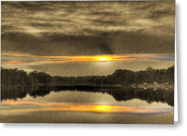 Visual Quality Digital Greeting Cards - The Masters Palette Greeting Card by Barry Jones