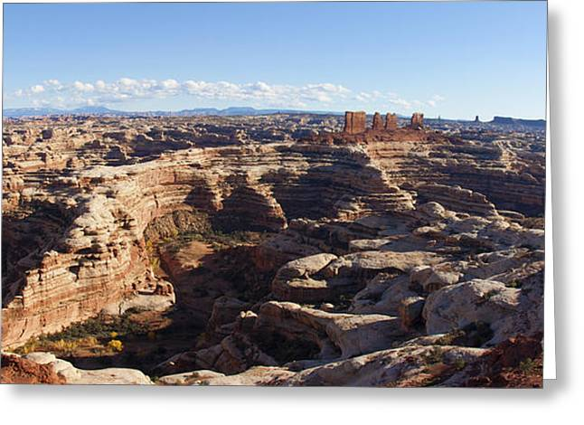 The Maze  Overlook Greeting Card by Scotts Scapes