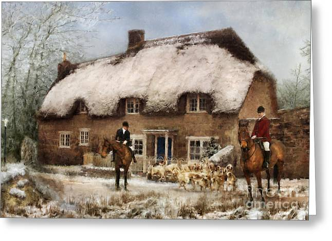 Thatch Digital Greeting Cards - The Meet Greeting Card by Trudi Simmonds