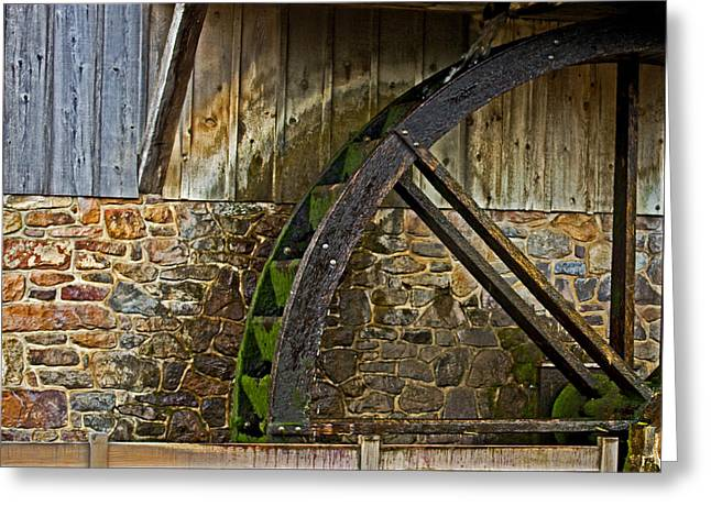 Generators Greeting Cards - The Mill Greeting Card by Tom Gari Gallery-Three-Photography
