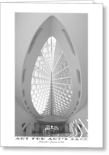 Milwaukee Greeting Cards - The Milwaukee Art Museum II Greeting Card by Mike McGlothlen