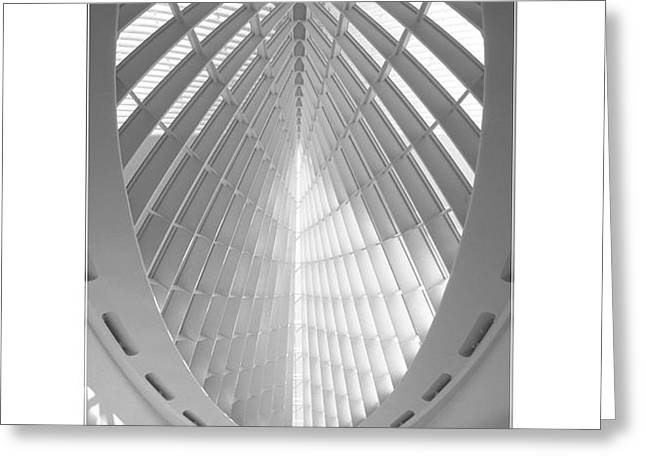 The Milwaukee Art Museum Greeting Card by Mike McGlothlen