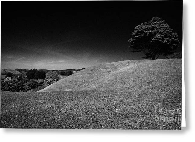 Mound Greeting Cards - The Mound Of Down Downpatrick County Down Northern Ireland Greeting Card by Joe Fox