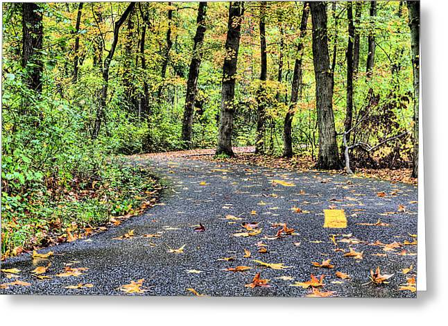 Wildlife Preserve Greeting Cards - The Mount Vernon Trail. Greeting Card by JC Findley