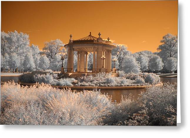 The Muny at Forest Park Greeting Card by Jane Linders